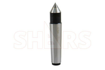 SHARS 3MT Carbide Morse Taper Solid Dead Center NEW