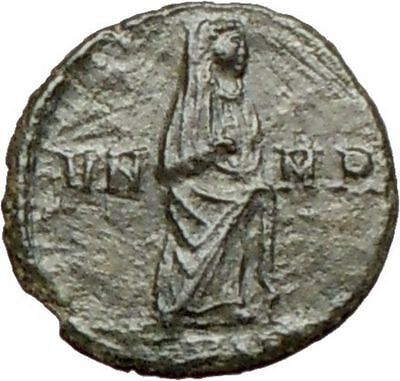 CONSTANTINE I the GREAT 347AD  Ancient Roman Coin Christian Deification i27890