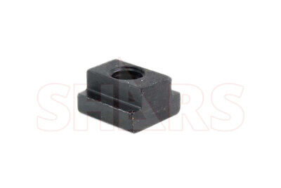 "Shars 7/16"" T-SLOT NUT 3/8""-16 THREAD NEW"
