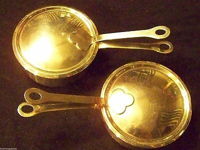 TIFFANY & CO SILVER ART & CRAFTS ERA STYLE COVERED PORRINGER SMALL SERVING POTS