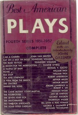Best American Plays-Fourth Series 1951-1957 - Gassner - Hardcover