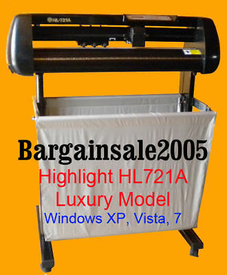 Highlight Hl721A Vinyl Cutter Cutting Plotter 4Mb Coreldraw Win 10/8/7 Sale On
