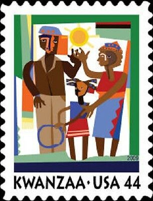 2009 44c Kwanzaa, Holiday Celebration Scott 4434 Mint F/VF NH
