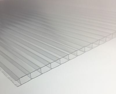 Greenhouse Sheet X 10 Polycarbonate 4 mm x 610 x 1220 Replacement Glazing