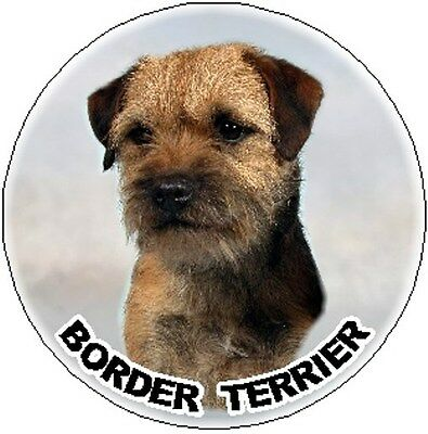 2 Border Terrier Car Stickers Design No 1 By Starprint - Auto combined postage