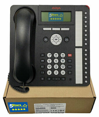 Avaya 1416 Digital Telephone Phone Global (700508194) Black - NEW