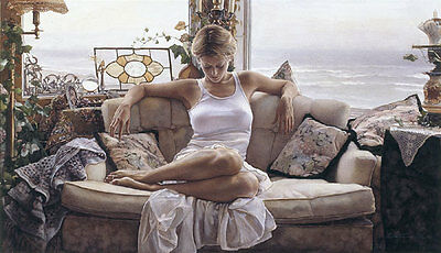"""To Search Within"" Steve Hanks Limited Edition Fine Art Print"