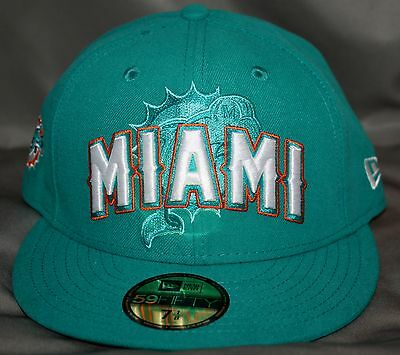 Miami Dolphins 2012 Draft 59Fifty Structured Fitted Hat   Cap By New Era f1477f2d8
