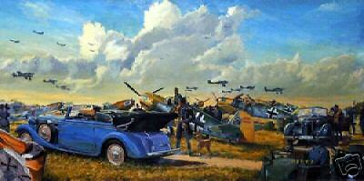 """High Summer"" James Dietz 1940 WW II Luftwaffe Aviation Print"