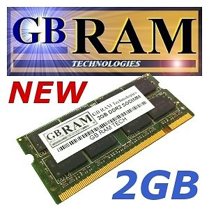 2GB DDR2 Memory RAM for HP - Compaq Business Notebook nc6320 nc6340 nc6400