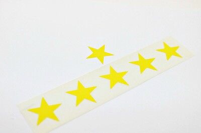 New Full Roll Of 1000 Star Tanning Stickers