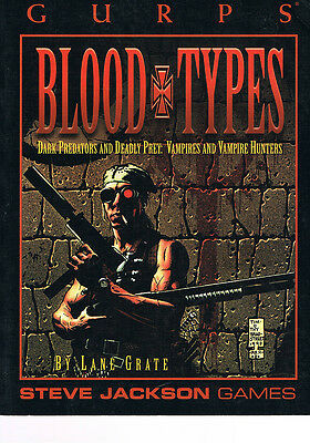 Gurps - Blood Types SC