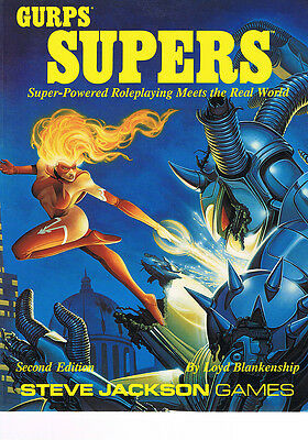 Gurps - Supers SC