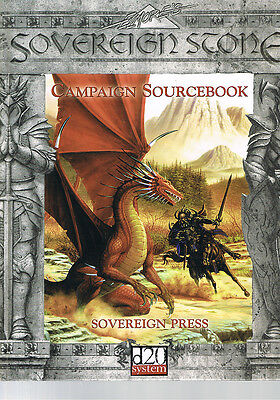 Sovereign Stone Campaign Sourcebook HC
