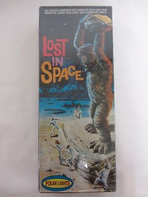 LOST IN SPACE MODEL KIT 5031 POLAR LIGHTS 1997 SEALED BOX ONE-EYED MONSTER