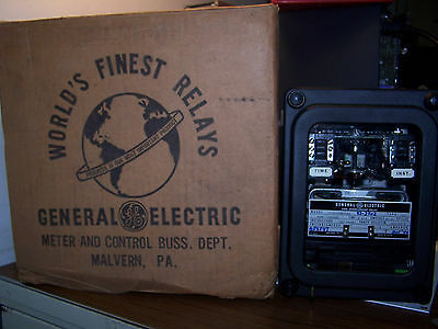 New General Electric Time Overcurrent Relay 12Iac53B803A