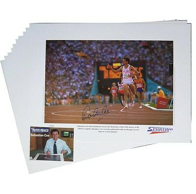 Sebastian Coe – 10 Signed prints: Wholesale offer