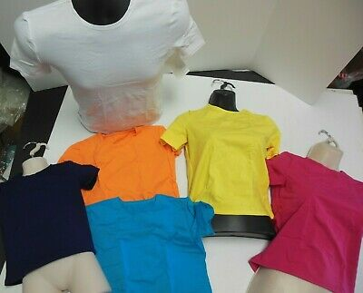 NWT Dance T shirt Many colors CottonSpandex boys girls ladies Mens Costume Piece