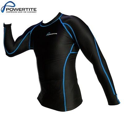 Powertite Kid Youth Active Compression Performance Top Skins Full Sleeve Top