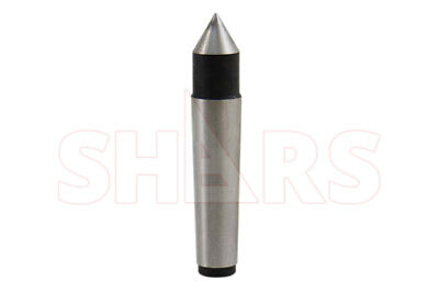 SHARS 3MT Steel Morse Taper Solid Dead Center NEW