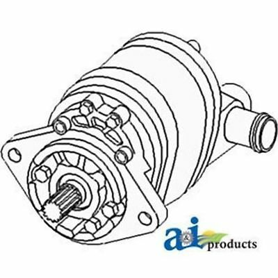Allis Chalmers Hydraulic Pump Triple 70249437 180 185