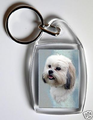 Lhasa Apso Key Ring By Starprint - No 2 - Auto combined postage