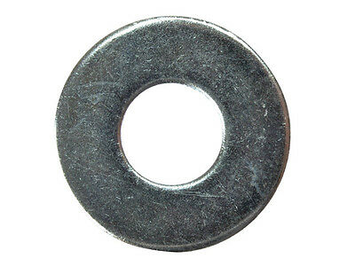 M6 (6mm) x 25mm BZP PENNY MUDGUARD REPAIR WASHERS - Pack of 10