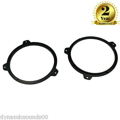 Replacement Car Speaker Adaptor Plate for 165mm Door Rings For BMW E46 3 Series