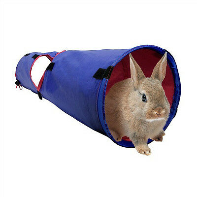 """Hagen Living World Small Pet Animal """"TUNNEL"""" Cozy PLAYSPACE & Hideout! 3 SIZES!"""