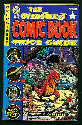 Overstreet Comic Book Price Guide #30 2000 Softcover 30Th Edition Vf / Nm