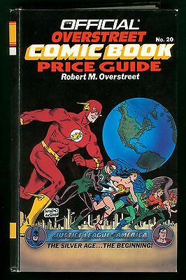Overstreet Comic Book Price Guide #20 1990 Hardcover 20Th Edition Very Fine