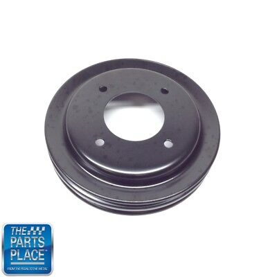 1968-70 Pontiac Crank Pulley 2 Groove Without Air Conditioning - GM # 9790846