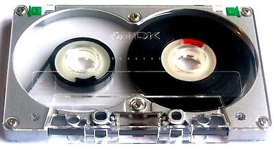 Cassette Audio Tdk Ma-R 90 Metal Alloy Tape*vintage*carcasa Metalica*power Sound