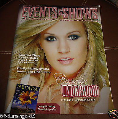Events & Shows Magazine Las Vegas Carrie Underwood May/June 2010