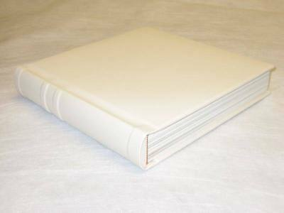 10x10 ivory Self Mount Wedding Photo Album - 30 Pages (Engraving Available)