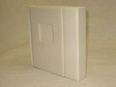 10x10 ivory Self Mount Wedding Photo Album - 20 photos (Engraving Available)