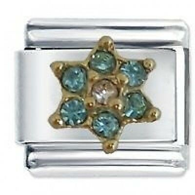 MARCH FLOWER BIRTHSTONE -Daisy Charm Fits Nomination Classic Size Italian Charms