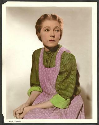 Silent Film Actress Alice Brady ORIGINAL 1930s Color Photo Young Mr. Lincoln