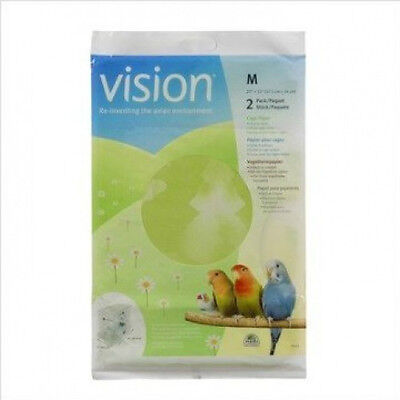 Hagen Vision Bird Cage Paper SUITABLE FOR VISION BIRD CAGES  3 SIZES S-L