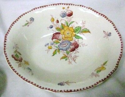 "VINTAGE GRINDLEY PRETTY ""BURTON"" OVAL SERVING BOWL"