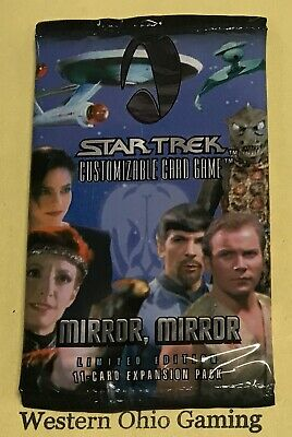 Star Trek Mirror, Mirror Booster Pack from Box NEW Collectible Card Game CCG