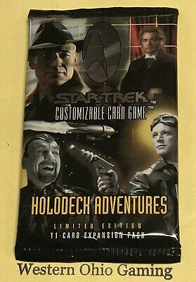 Star Trek CCG Holodeck Adventures Booster Pack from Box NEW Card Game