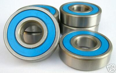 10 x 6001-2RS STAINLESS STEEL RUBBER SEALED BEARINGS