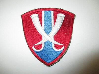 b0763  Vietnam US Army Thailand Support Command colored