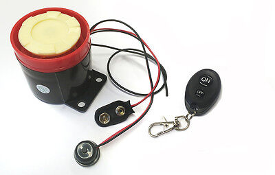 Mobility Scooter & Motorbike/Motorcycle Mini Alarm Security Device