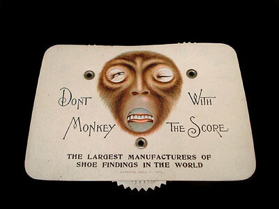 Don't Monkey With The Score Lynn Mass Shoe Co Game Counter