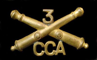 3Rd Coastal Artillery Corps Hat Device
