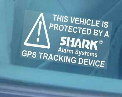 5 x Car,Van,Truck,Lorry,Taxi Security Stickers-GPS Alarm Tracker-Tracking Device