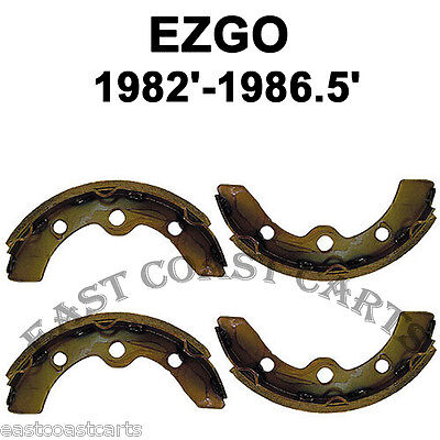 EZGO 1982'-1986.5' Marathon Golf Cart Rear Brake Shoe (set of 4) 23396-G1