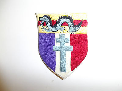 0485 ww 2 Free French Forces in China patch